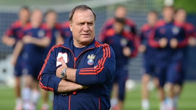 Advocaat content with Russia quality