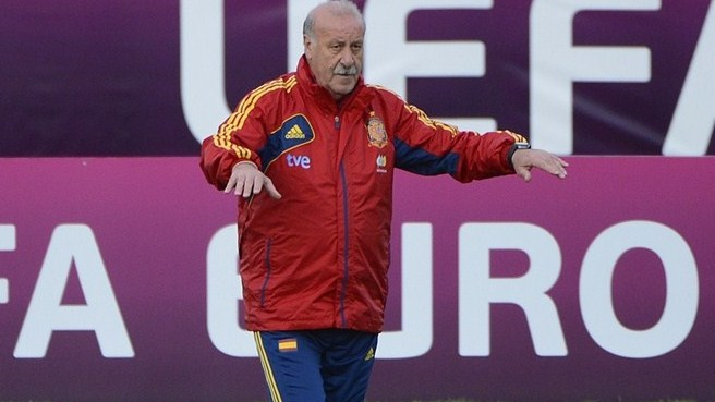 Del Bosque warms to Spain task