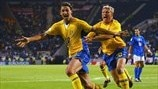 EURO 2004 highlights: Sweden 1-1 Italy
