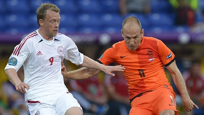 Robben reliable on frustrating night for the Dutch