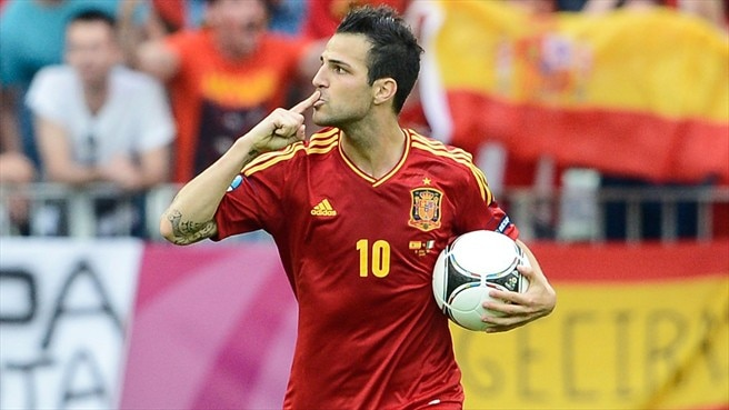 Fàbregas secures share of spoils for Spain