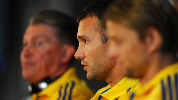 Press conference: UKR - SWE
