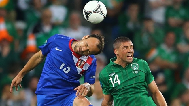 Gordon Schildenfeld (Croatia) & Jonathan Walters (Republic of Ireland)