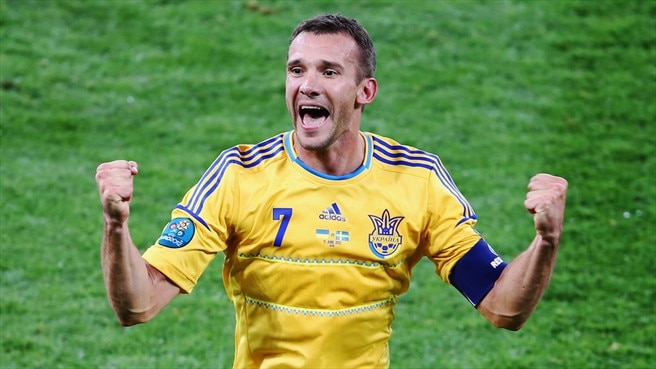 Shevchenko the symbol of Ukraine success