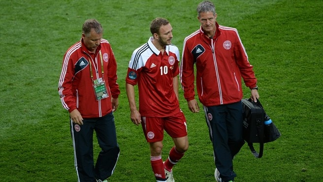 Denmark lose Rommedahl for decider
