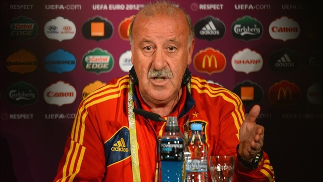 Del Bosque: Ireland can challenge Spain