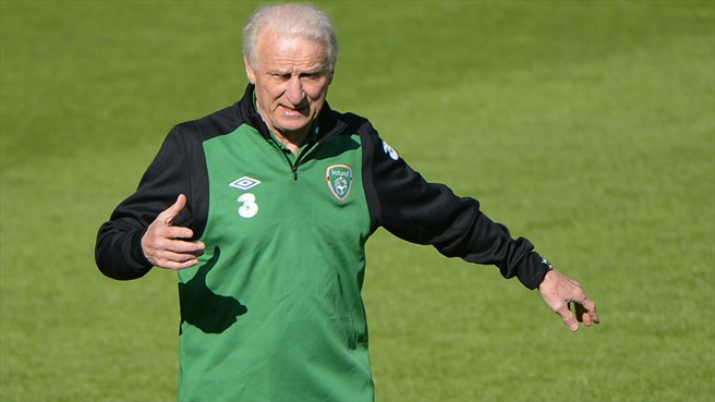 Trapattoni looks to the future with Ireland