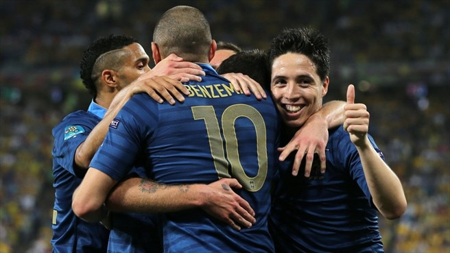 France find their stride to pick off Ukraine