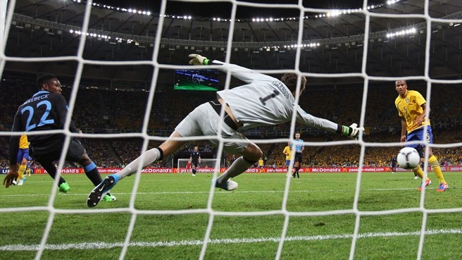 Sweden vs England | UEFA EURO 2012