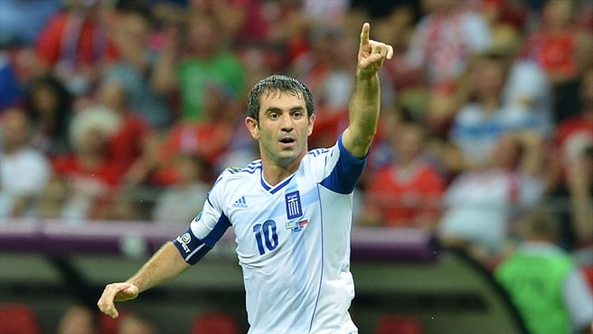 Proud Karagounis closes in on Greece milestone