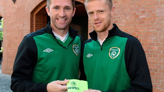 Damien Duff & Robbie Keane (Republic of Ireland)