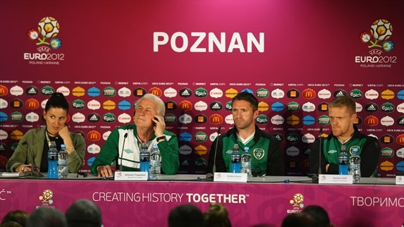Press conference: ITA - IRL