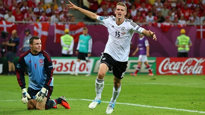 German joy signals despair for Denmark