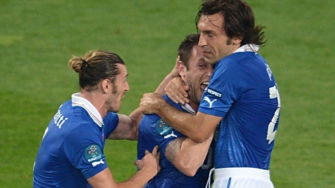 Italy victory good enough to progress