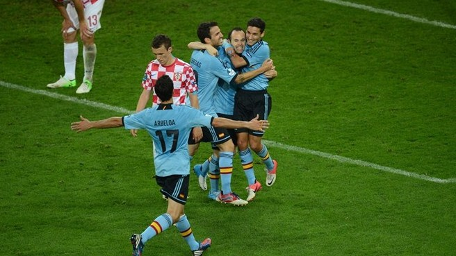 Navas strikes late to break Croatia resistance