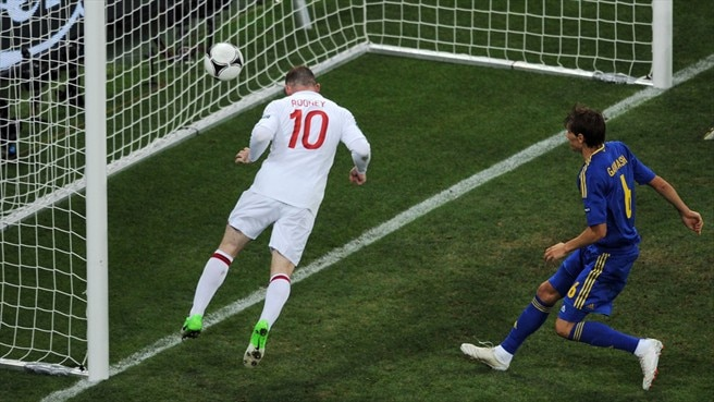 Rooney to the rescue as Ukraine fall short