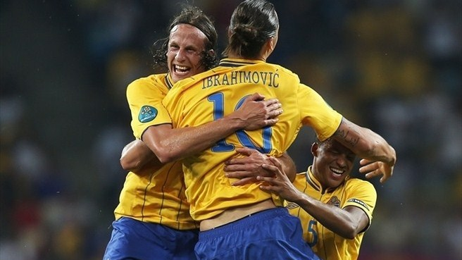 Sweden end on high, France progress