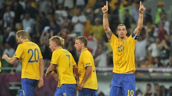 Sweden find their stride too late