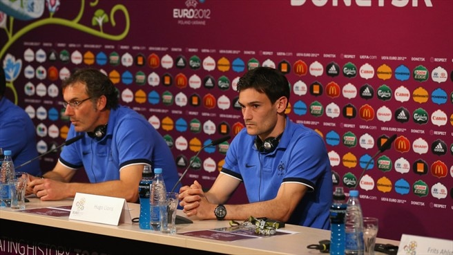 Laurent Blanc & Hugo Lloris (France)