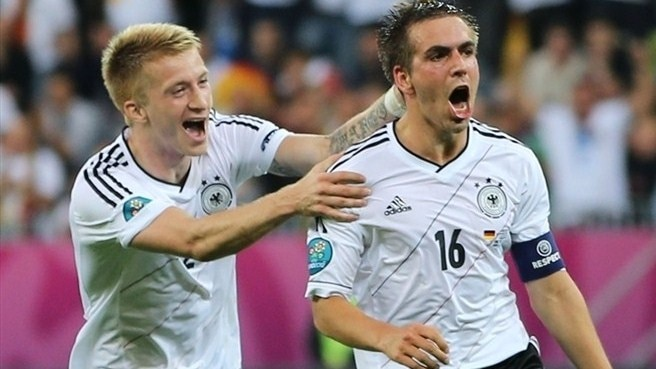 Germany overpower Greece in Gdansk