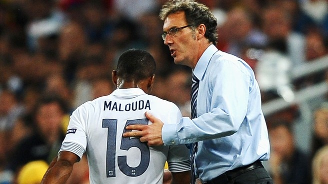 Laurent Blanc & Florent Malouda (France)