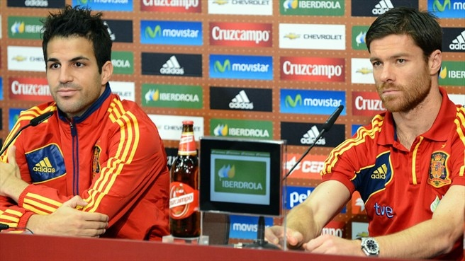 Cesc Fàbregas & Xabi Alonso (Spain)