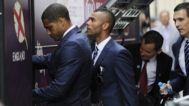 Glen Johnson & Ashley Cole (England)
