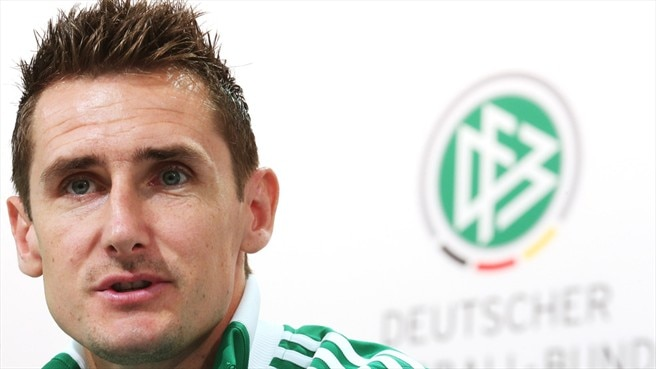 Klose primed to shine against Italy