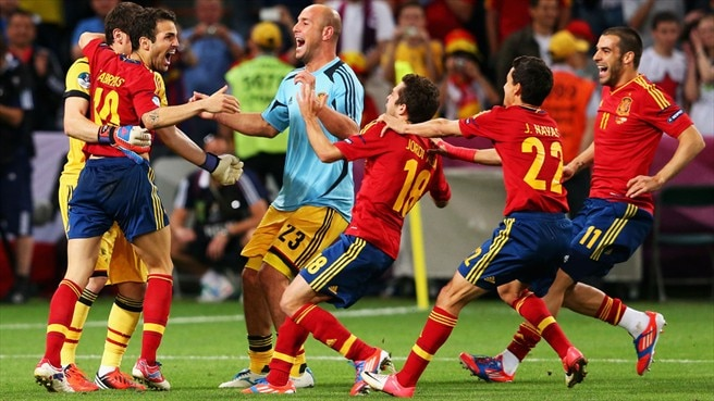 Fàbregas's premonition pays off for Spain