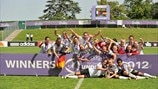 Germany complete U17 hat-trick