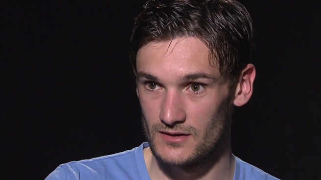 Hugo Lloris on U19