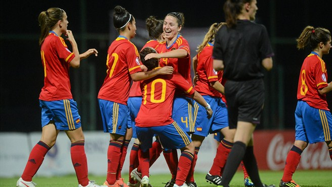 Spain ease away against Serbia