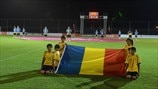 Romania flag-bearers
