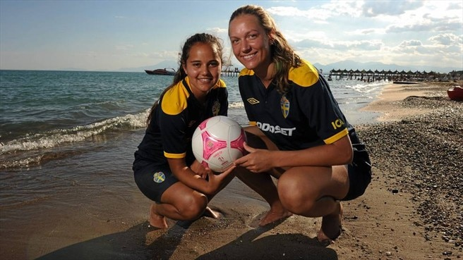 Swedish duo relishing physical Denmark test