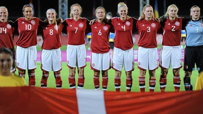 Denmark players