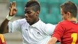 Watch Pogba goal for France U19s