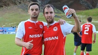 Sean O'Connor & Greg Bolger (Saint Patrick's Athletic FC)