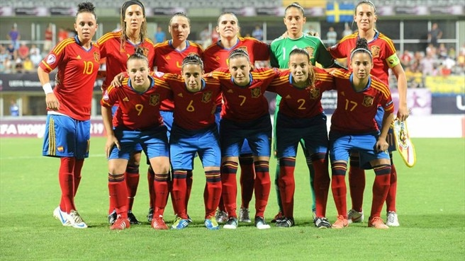Spain line up