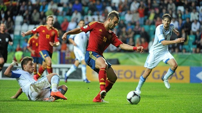 Jesé Rodríguez (Spain) & Kostas Stafylidis (Greece)
