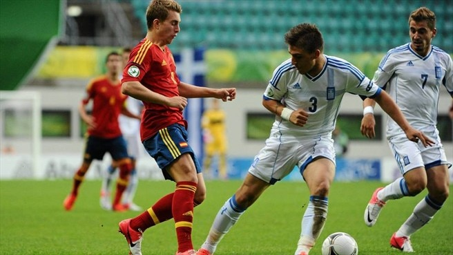 Gerard Deulofeu (Spain) & Kostas Stafylidis (Greece)