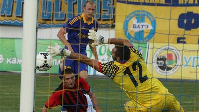 BATE stun Vardar to snatch last-gasp victory