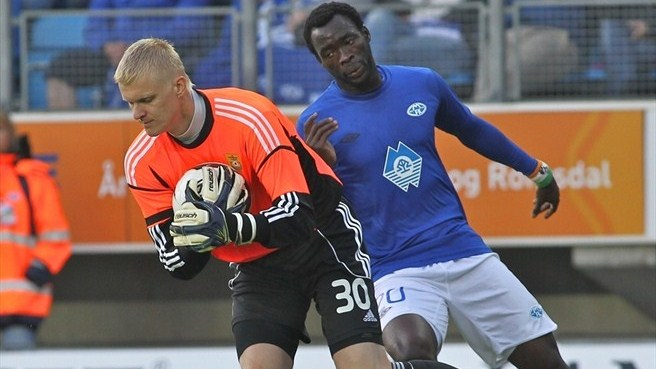 Angan secures Molde victory against Ventspils