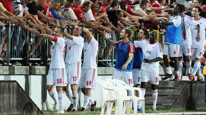 Debrecen come from behind to see off Skënderbeu