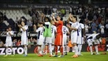 RSC Anderlecht players celebrate
