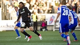 Celtic win at HJK to clinch play-off place
