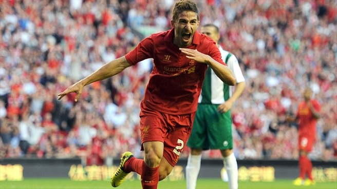 Liverpool's Borini facing lengthy spell out