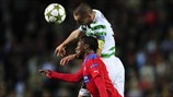 Scott Brown (Celtic FC) & May Mahlangu (Helsingborgs IF)