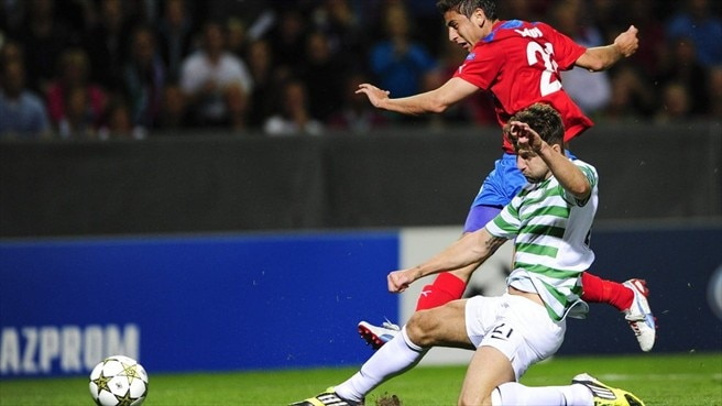 Celtic composed for Helsingborg decider