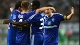 FC Dynamo Kyiv players celebrate
