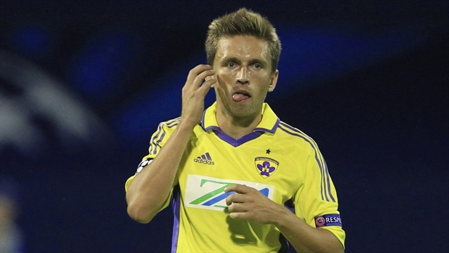 Maribor earn last-gasp draw at Rubin